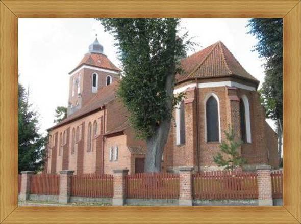 Bartąg Kościół parafialny Św. Jana Ewangelisty i Sanktuarium Opatrzności Bożej.