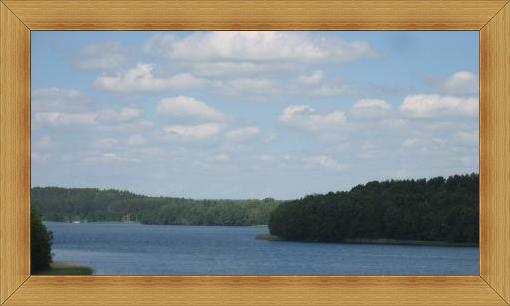 Olsztyn jeziora lasy