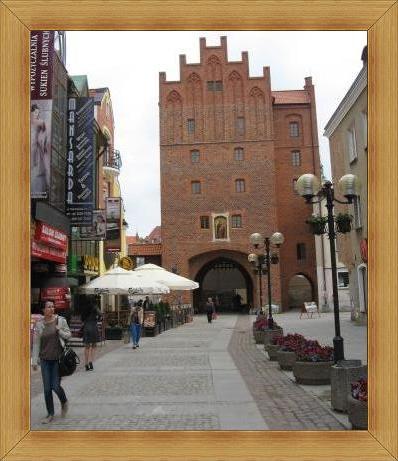 Wysoka Brama Olsztyn starówka wydarzenia występy