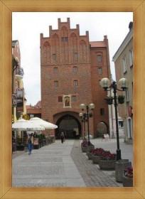 Wysoka Brama Olsztyn starówka wjazd