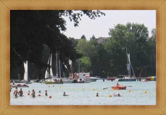 Ciepła woda w jeziorach Olsztyn kraina Warmia i Mazury.