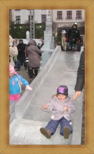 Atrakcje dla dzieci Olsztyn ślizgawka lodowa