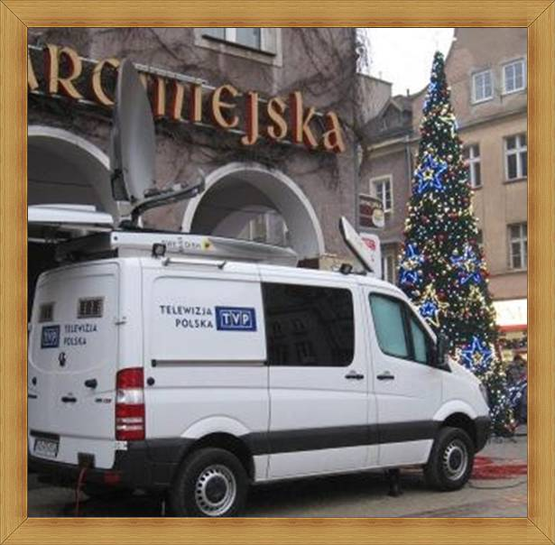 TVP Olsztyn transmisje - wóz