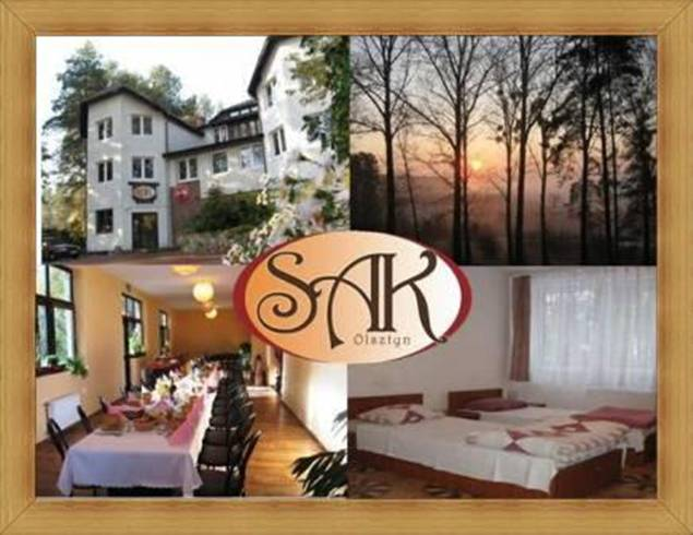 Hotel Olsztyn restauracja SAK noclegi
