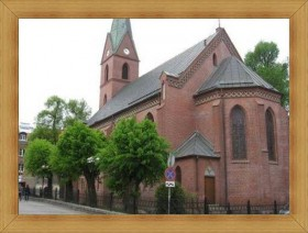 Kościół Olsztyn starówka