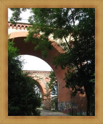Zabytki Olsztyn mosty wiadukty