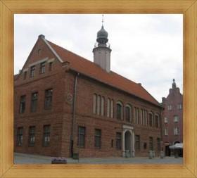 Zabytkowy ratusz Olsztyn stare miasto